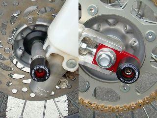 51048:Honda CRF150R用 フロント&アクスル ブロック スライダー