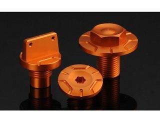 64798:ボルト・キャップ セット type A DUKE125/200(オレンジ)