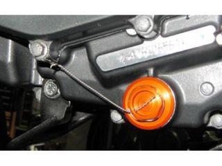 64799:ドレン ボルト DUKE125/200(オレンジ)