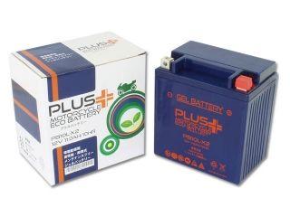 76912:PLUS(プラス)バッテリー ジェルタイプ PB10L-X2(YB10L-A2/YB10L-B2 互換)