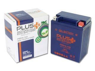 76914:PLUS(プラス)バッテリー ジェルタイプ PB14L-X2(YB14L-A2/YB14L-B2 互換)