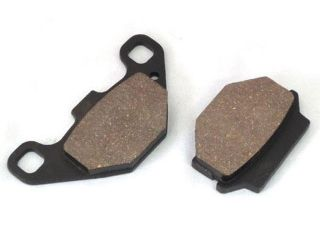 84428:カワサキ 汎用 ブレーキパッド セミメタル製 バリオス エストレヤ ZXR250 ザンザス等