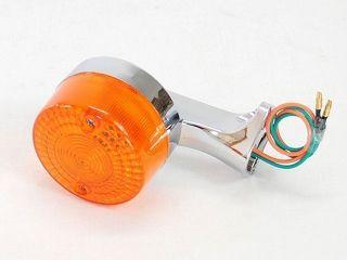 84447:ホンダ スーパーカブ スーパーカブC50 スーパーカブC70 スーパーカブC90 ウインカー 純正形状 リア 1個(レンズ:オレンジ)