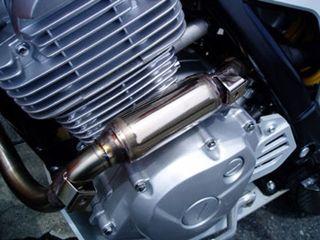 86979:レーシングエキゾーストパイプ ステンレス製