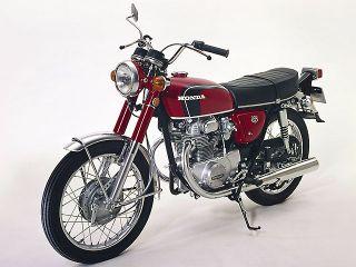 1971年 Dream CB350 EXPORT・マイナーチェンジ