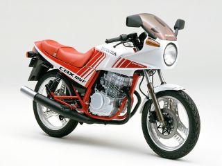 1987年 CBX125F・マイナーチェンジ