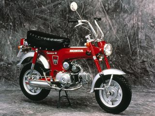 1969年 DAX HONDA ST50・新登場