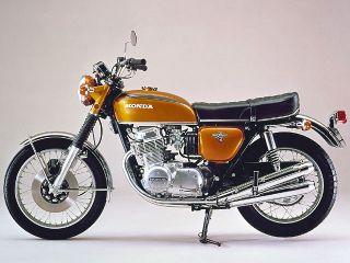 1970年 DREAM CB750 FOUR・マイナーチェンジ