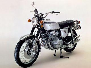 1972年 DREAM CB750 FOUR・マイナーチェンジ