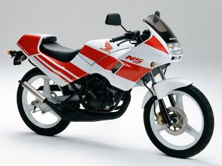 1989年 NS50F・マイナーチェンジ