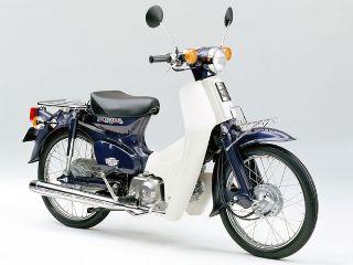 1998年 Super Cub 50 Deluxe・マイナーチェンジ