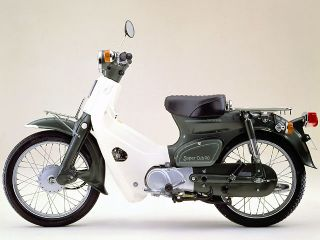 1981年 Super Cub 90 Deluxe・マイナーチェンジ