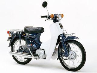1986年 Super Cub 90 Deluxe・マイナーチェンジ