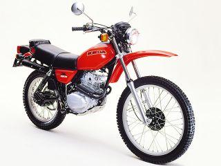 1979年 XL250S・マイナーチェンジ