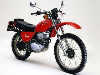 1980年 XL250S・マイナーチェンジ