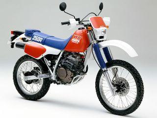 1987年 XLR250R・フルモデルチェンジ