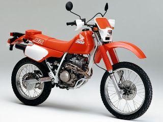 1989年 XLR250R・マイナーチェンジ