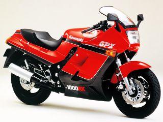 1986年 GPZ1000RX・新登場