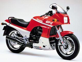 1987年 GPZ900R Ninja・カラーチェンジ