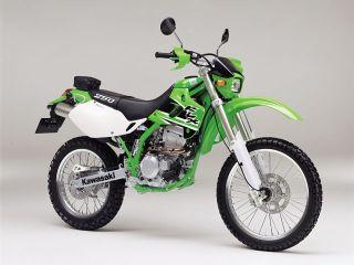 2002年 KLX250・カラーチェンジ