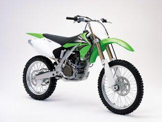 2004年 KX250F・新登場