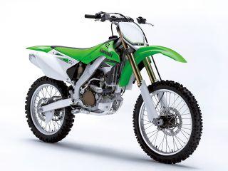2007年 KX250F・マイナーチェンジ