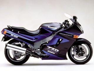 1990年 ZZR1100・新登場