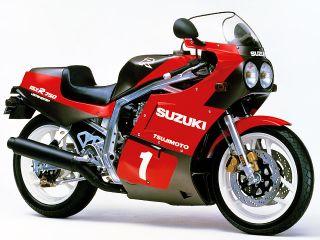 1986年 GSX-R750R・新登場