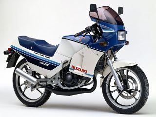 1985年 RG125Γ・新登場