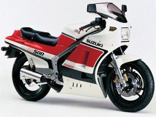 1985年 RG500Γ・新登場
