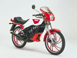1985年 RZ50・マイナーチェンジ