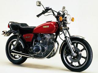 1980年 XS250 SPECIAL キャストホイール仕様・新登場