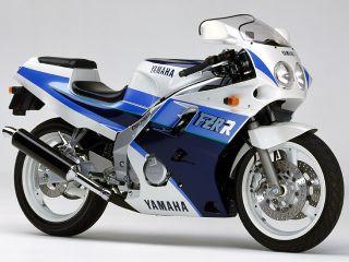 1989年 FZR250R・カラーチェンジ