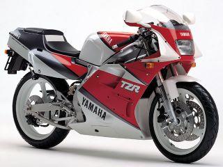 1990年 TZR250・マイナーチェンジ