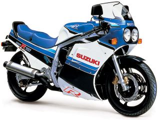 1986年 GSX-R750・マイナーチェンジ