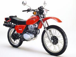 1980年 XL500S・マイナーチェンジ