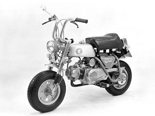 1969年 MONKEY Z50A・フルモデルチェンジ