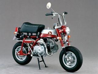 1970年 MONKEY Z50Z・フルモデルチェンジ