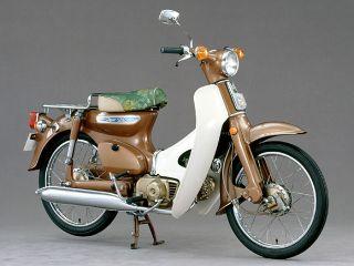 1971年 Super Cub C50 Deluxe セル付・追加