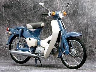 1966年 Super Cub C50・フルモデルチェンジ