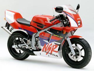 1995年 NSR80・マイナーチェンジ