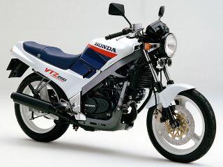 1987年 VTZ250・マイナーチェンジ