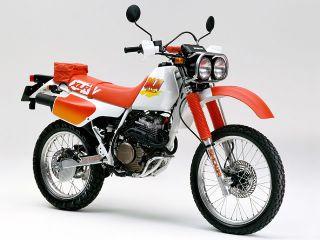 1990年 XLR250 BAJA・カラーチェンジ