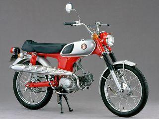 1968年 BENLY CL50・マイナーチェンジ