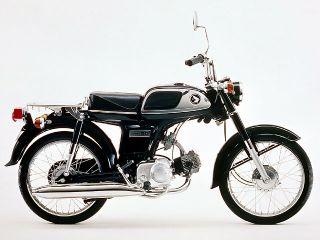 1970年 BENLY CD50 セル付・マイナーチェンジ