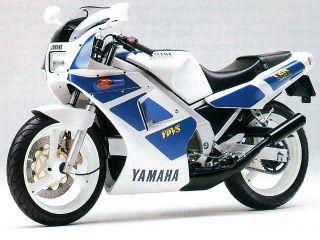 1988年 TZR250・マイナーチェンジ