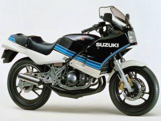 1984年 RG250Γ・マイナーチェンジ