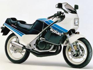 1985年 RG250Γ・マイナーチェンジ