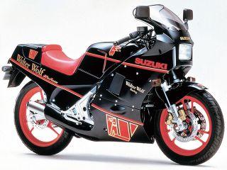 1986年 RG250Γ・マイナーチェンジ