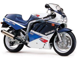 1989年 GSX-R750・マイナーチェンジ